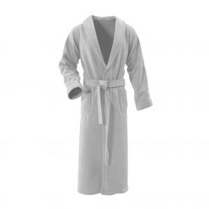white bathrobe. isolated on white background 3D Illustration